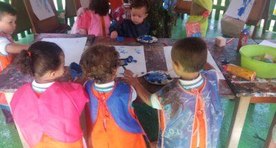 La pintura en los niños